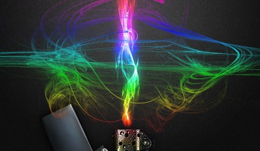 Abstract multicolor fire zippo aokp HD wallpaper