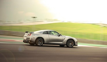 Gtr super car bic buddh international circuit HD wallpaper