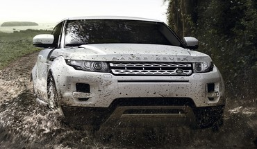 Cars land rover vehicles range evoque splashes HD wallpaper