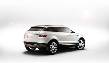 Cars white background evoque HD wallpaper