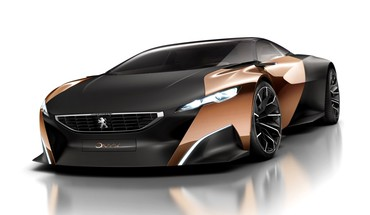 Konzeptkunst peugeot onyx  HD wallpaper