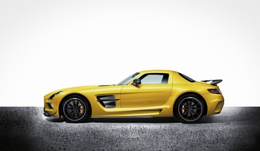 View black series mercedes benz smg 63 HD wallpaper