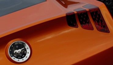 2006 Ford Mustang Giugiaro Concept Art Embleme  HD wallpaper