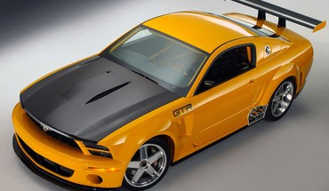 Ford mustang gt automobile gt-r concept HD wallpaper