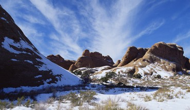 American landscapes mountains nature snow HD wallpaper