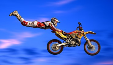 Freestyle sport motos de motocross racer  HD wallpaper