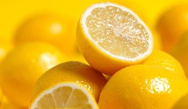 Fruits food lemons HD wallpaper