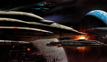 Fiction artwork a-wing ralph mcquarrie traditional art HD wallpaper