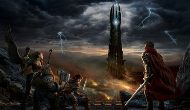 Lord of the rings online rings dwarfs HD wallpaper