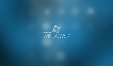 Minimalistic windows 7 photo shoot HD wallpaper