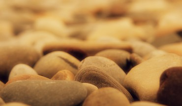 Depth of field macro nature pebbles rocks HD wallpaper