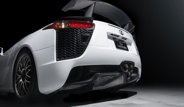 White lexus lfa 2013 HD wallpaper