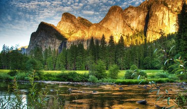 Parfait parc national paysage hdr  HD wallpaper