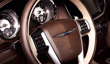 Chrysler 300 car interiors series steering wheel HD wallpaper