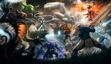 Dota 2 Phantasiekunst Videospiele  HD wallpaper