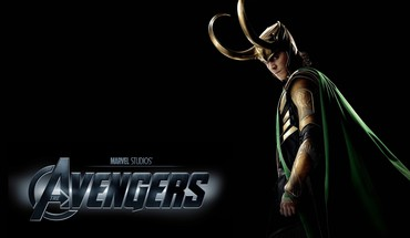 Loki the avengers movie tom hiddleston black background HD wallpaper