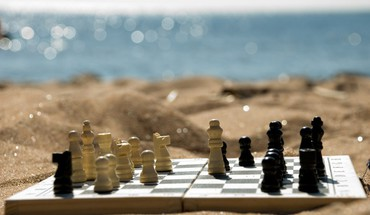 Nature chess HD wallpaper