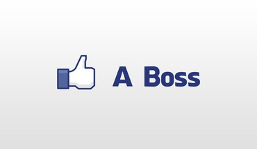 """Facebook"" bosas, kaip minimalistinis thumbs up  HD wallpaper"