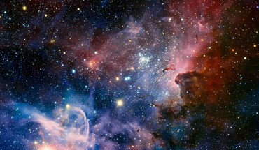 Outer space nebulae carina nebula HD wallpaper