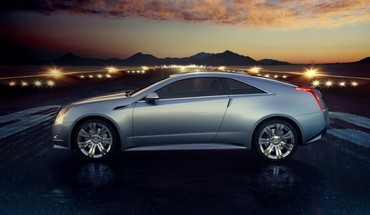 Automobiliai Concept Art Cadillac CTS Coupe 2008 šoninį  HD wallpaper