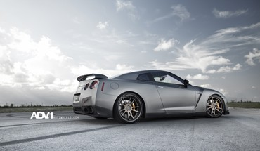 Nissan gtr r35 cars lowangle shot skylines HD wallpaper