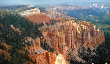 Bryce canyon overlook HD wallpaper