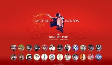 Michael Jackson raudona fonas  HD wallpaper