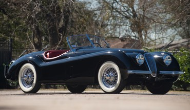 Jaguar roadster xk120 HD wallpaper