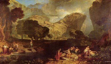 Turner the garden of hesperides artwork paintings HD wallpaper