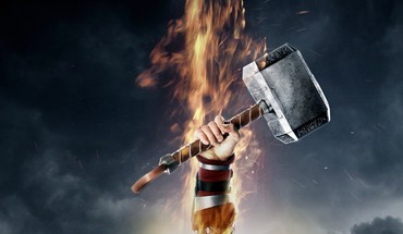 Movies thor mjolnir thor: the dark world HD wallpaper