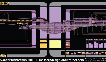 Star trek sovereign the next generation voyager schematics HD wallpaper
