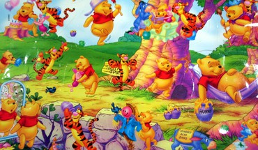 Pooh bear HD wallpaper