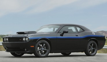 Automobiliai Dodge Challenger SRT8 raumenų  HD wallpaper