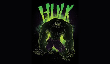 Hulk marvel comics black background fan art HD wallpaper