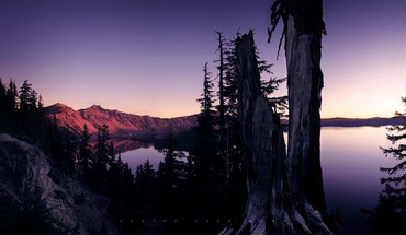 Greg martin crater lake dawn lakes landscapes HD wallpaper