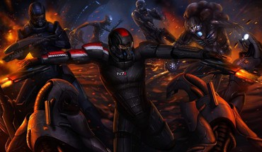 Mass effect n7 game HD wallpaper