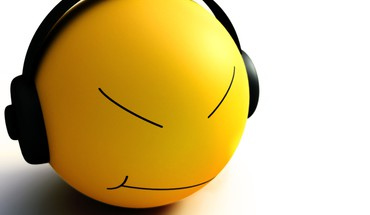 Smiley music HD wallpaper