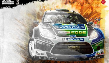 Vehicles racing wrc world championship fiesta car HD wallpaper