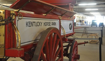 Wagon from kentucky horse park HD wallpaper