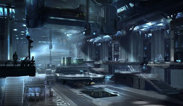 Halo concept art artwork 4 nicolas bouvier HD wallpaper