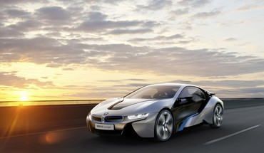 Cars bmw i8 concept i3 HD wallpaper