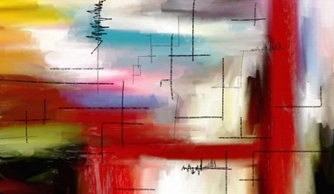 Abstract colors multicolor paintings watercolor HD wallpaper