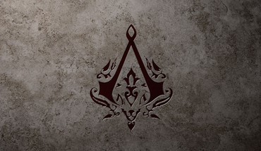 minimalistinis Assassins Creed logotipų  HD wallpaper