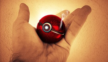 Pokemon iron man tony stark marvel avengers pokeball HD wallpaper