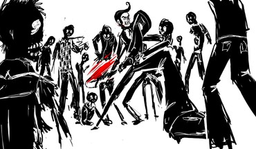 Zombies sketches drawings drawn HD wallpaper