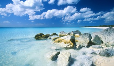 Nature beach bahamas long island HD wallpaper