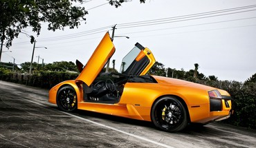 Automobiliai Lamborghini Murcielago Roadster  HD wallpaper