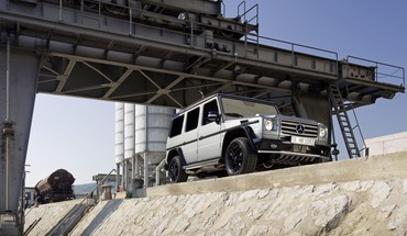 Low-angle shot mercedes-benz g-class g class HD wallpaper