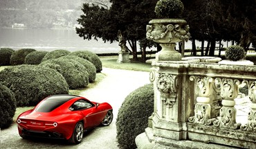 Alfa romeo disco volante HD wallpaper