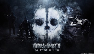 Call of fantômes de droits logo  HD wallpaper